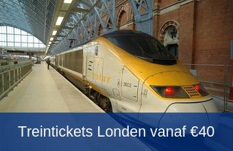 Goedkope treintickets Londen tips