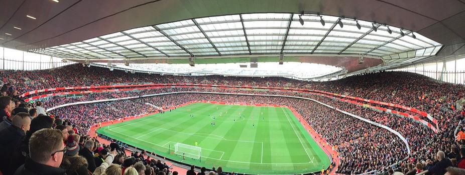 Arsenal stadion view