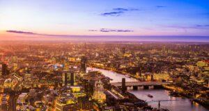 Uitzicht over Londen